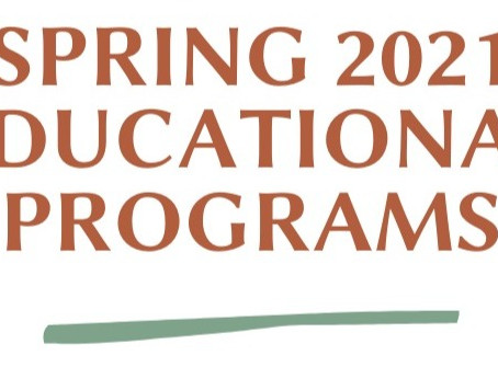 Spring Educational Program Schedule