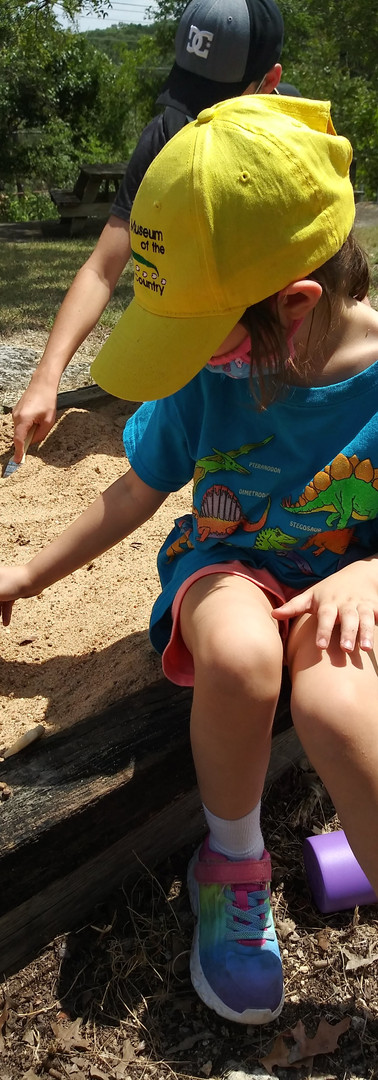 Youth and Digging for Dinosaurs