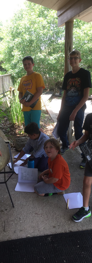 Youth and Finding Fossils