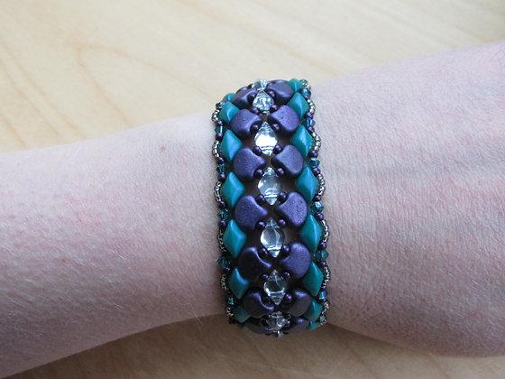 Pattern- Glossy Starling Bracelet