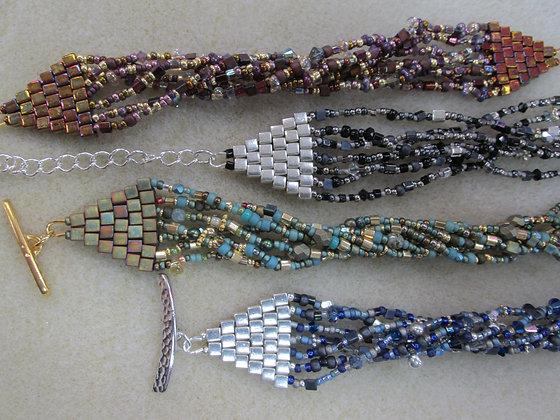 Pattern- Brick Stitch Bracelet