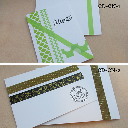Handmade Cards-Congrats