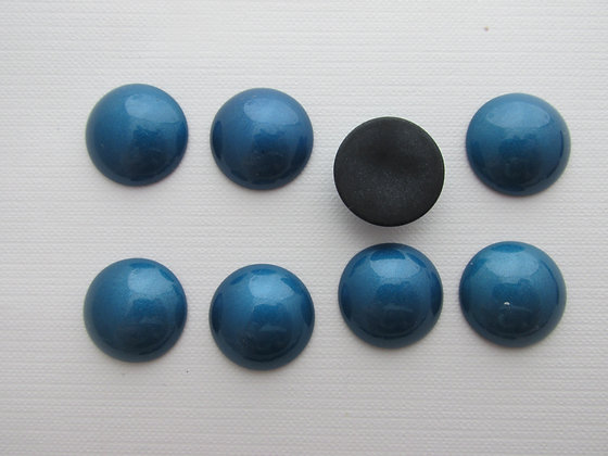 18mm Resin Shiny Blue