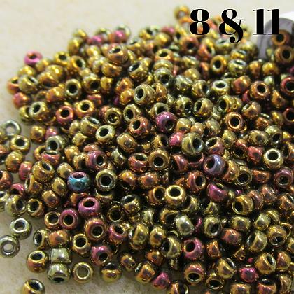 Metallic Gold Iris