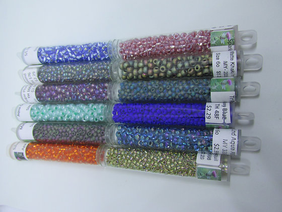 Stash Box Seed Beads