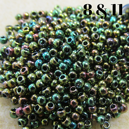 Higher Metallic Iris Olivine