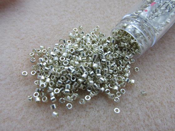 11o Delica-Duracoat Galvanized Silver