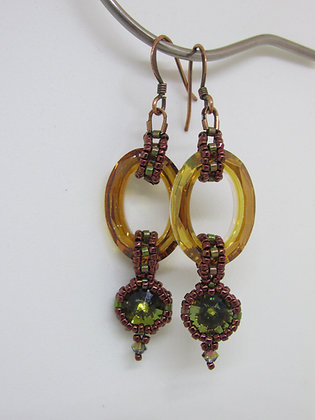 Pattern- Gates of Autumn Earrings