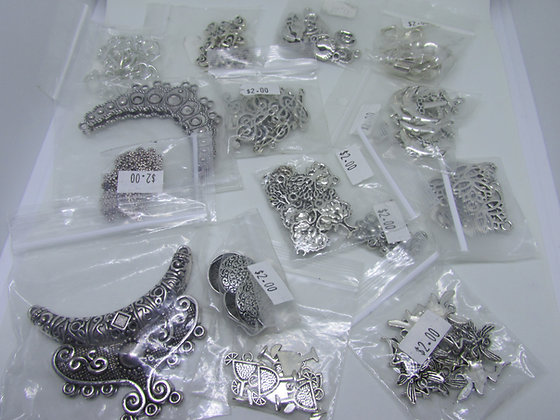 Assortment A- charms/metals