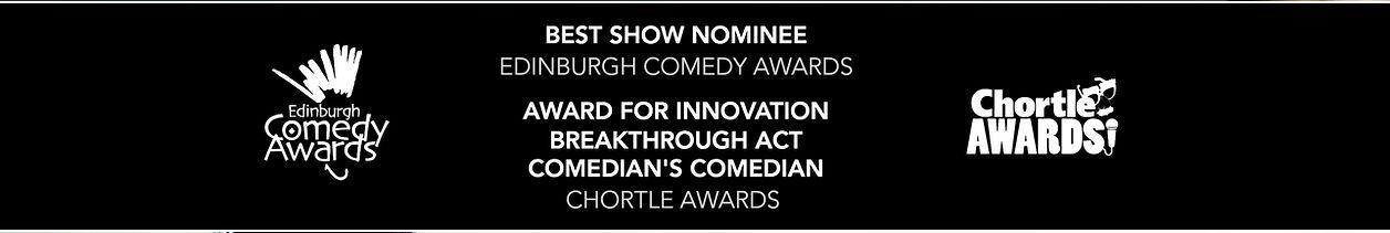 Joseph Morpurgo Comedy - Awards Banner