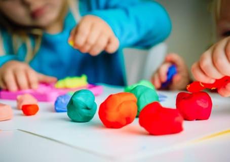 So many benefits of play dough fun.