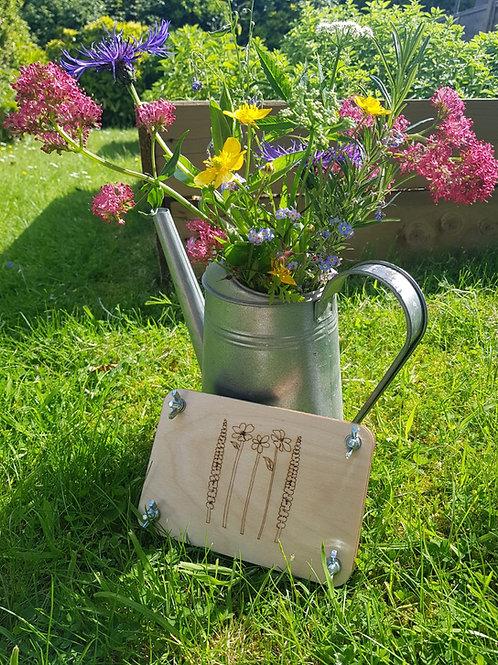Flower Press - Five Flowers
