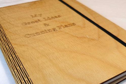 Ideas & Cunning Plans Notebook