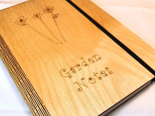 Garden Notes Notebook