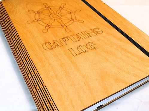 Captains Log Notebook