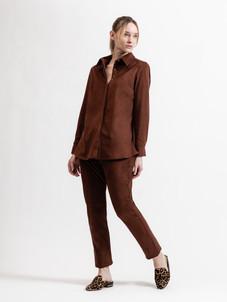 8802 Pleat Back Shirt, 8813 Full Length Jean