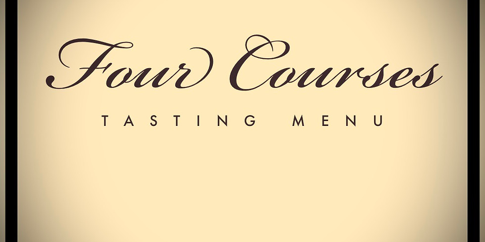FOUR COURSE DINNER SERIES TICKET  / FRIDAY EVENING
