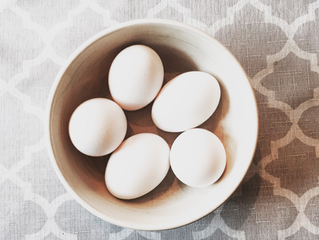 Breakfast Protein Idea - Boiled Eggs