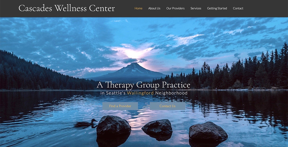 Therapy Group Practice | Wix Brochure Site & Headshot Photography