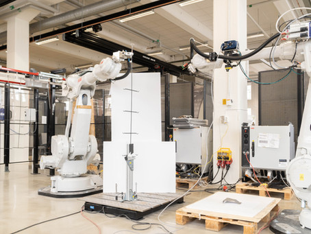Digi-Load: Testbädd för automatiserad hängning och nedplockning av gods
