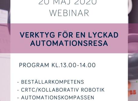 Robotdalen Webinar