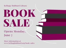 Book Sale Opening June 7!