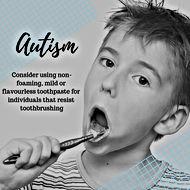 oral health and autism