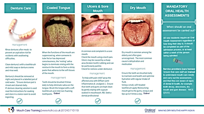 mouth care training