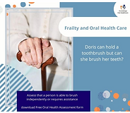 Frailty and oral health