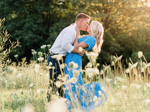 Taylor & Logan || Toledo Botanical Gardens Engagement Session || Ohio Wedding Photographer