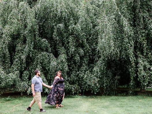 Sierra & Brad || Toledo Botanical Gardens Engagement Session || Ohio Wedding Photographer