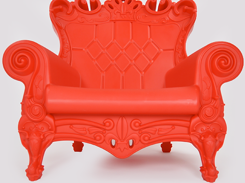 Queen of Love Armchair - Red Passion