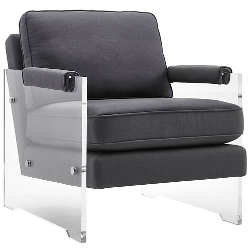 Caron Floating Lucite Chair