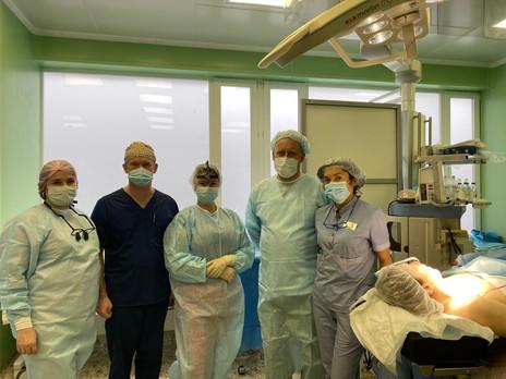 Расширяем возможности хирургии головы и шеи