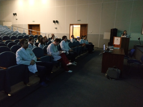 Заседание СНК кафедры  онкологии и лучевой терапии