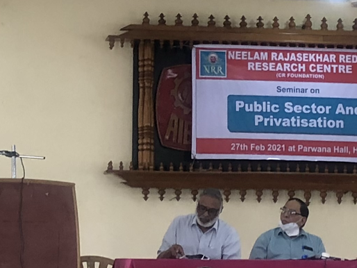 Public sector and privatisation