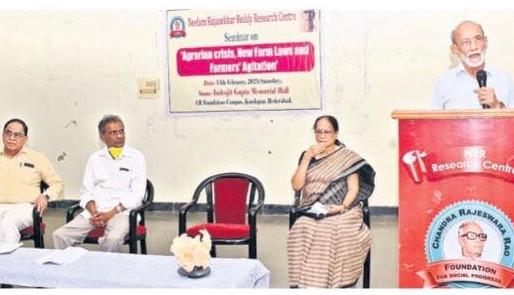 భారతదేశంలో వ్యవసాయదారుల సంక్షోభం!