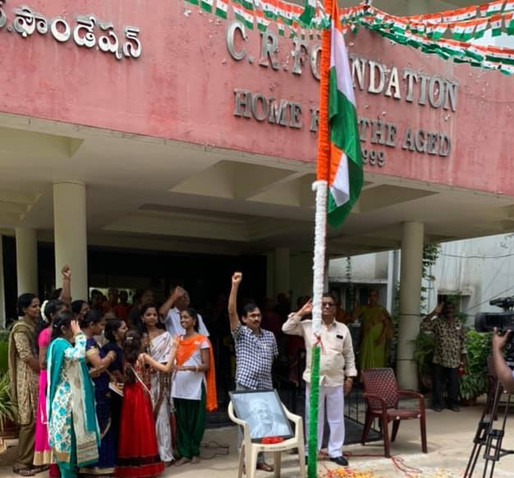 73rd Independence Day of India is celebrated at CR Foundation