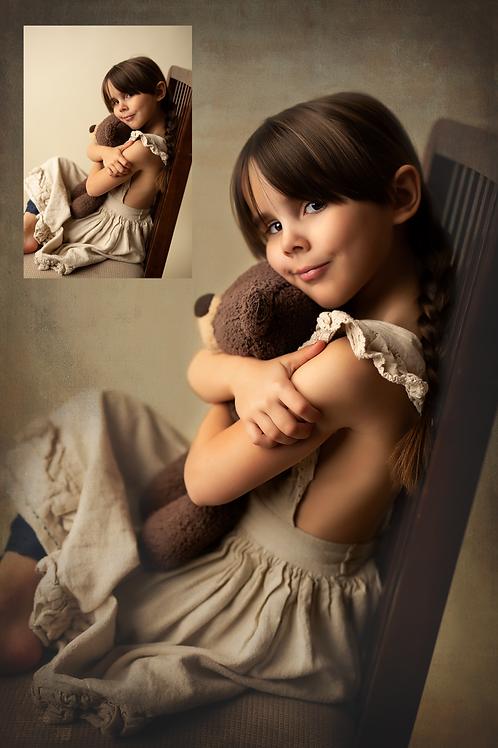 Teddy Bear - Fine Art Studio Edit