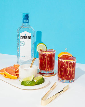 Pomegranate Grapefruit Vodka-Rita
