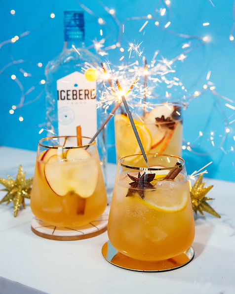 Sparkling Spiced Punch