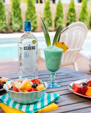 Frozen Blue Hawaiian