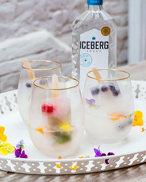 Yuzu Lemonade Popsicle Vodka Spritz