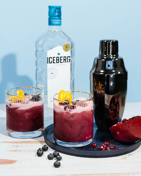 Blueberry Pomegranate Detox Sour
