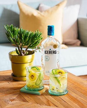 Kiwi Cucumber Vodka Tonic