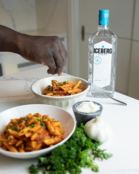 Spicy Penne Alla Vodka