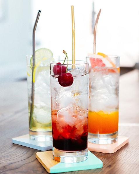 Vodka Seltzer Sunrise