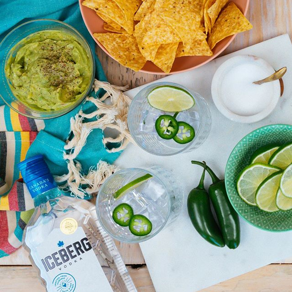 SPICY CUCUMBER VODKA-RITA