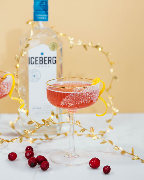 Cranberry French 75