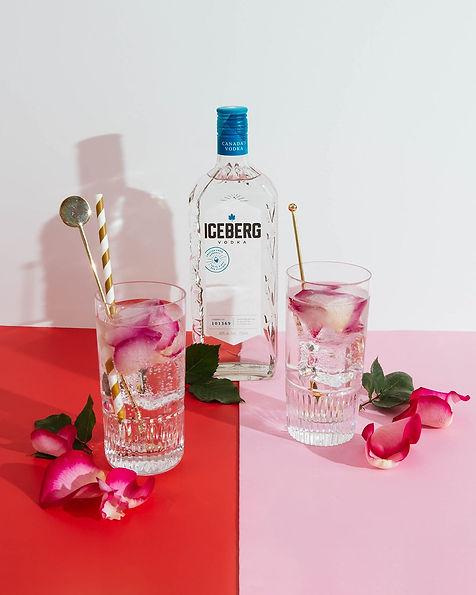 Floral Infused Vodka Soda